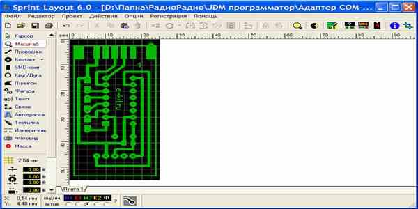 Sprint-layout 6. 0 دانلود رایگان نرم افزار.