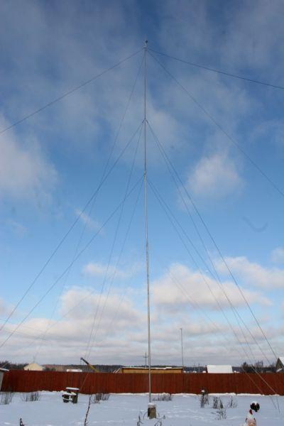 Антенна Фукса на диапазон 40 м  r4fsu