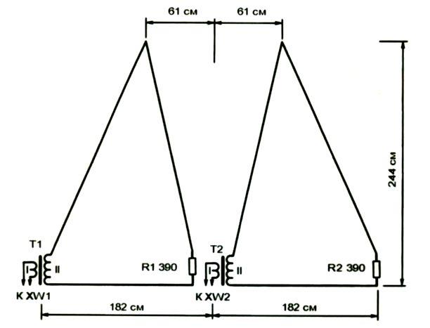 Приемная антенна кв диапазона
