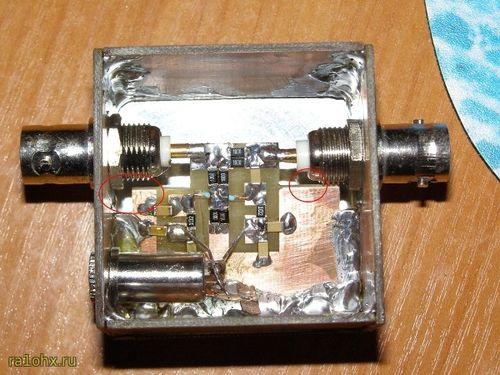 Вид рефлектометра